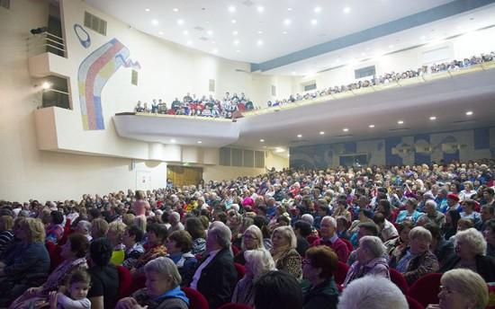 В Севастополе прошел праздничный концерт, посвященный 8 марта