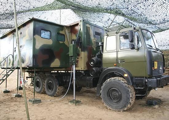 Связисты в Крыму осваивают новые мобильные пункты управления АПЕ-5