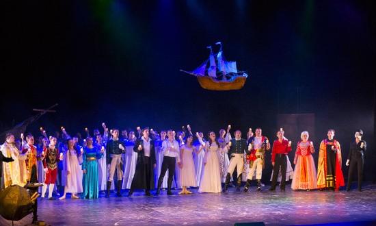 В Севастополе показали рок-оперу «Юнона и Авось»