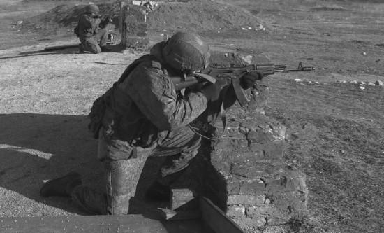 Разведчики армейского корпуса ЧФ проводят учение в Крыму
