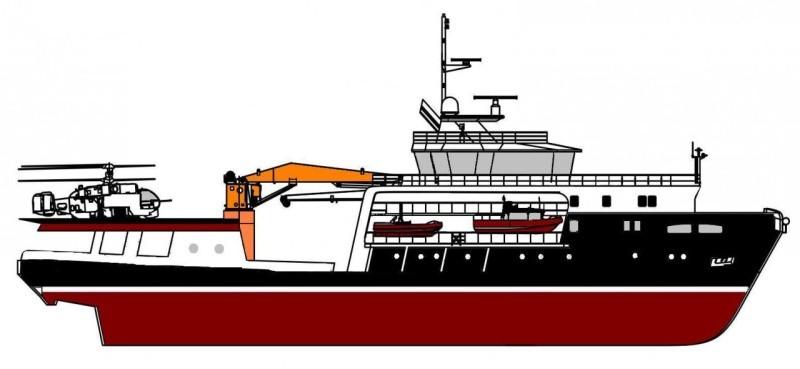 Морской буксир «Андрей Степанов» проходит заводские ходовые испытания