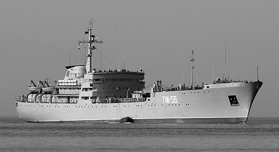 Плавучая мастерская Черноморского флота совершает переход в Средиземное море