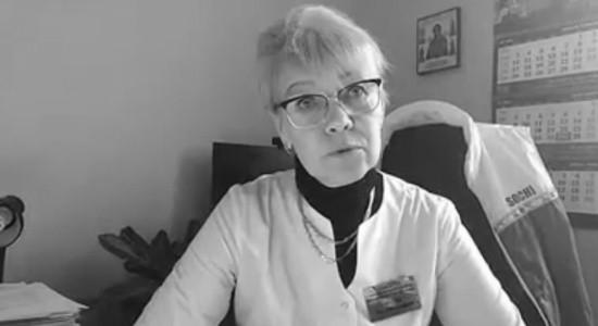 Главврач севастопольской инфекционной больницы выступила с видеообращением