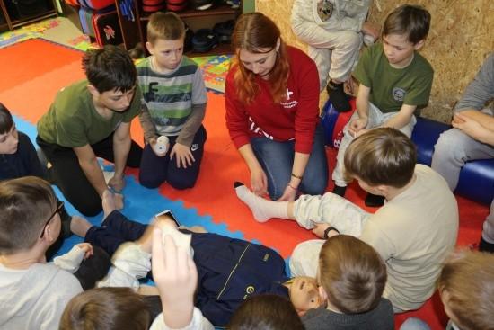Для юных рукопашников Севастополя прошел семинар по медицинской подготовке