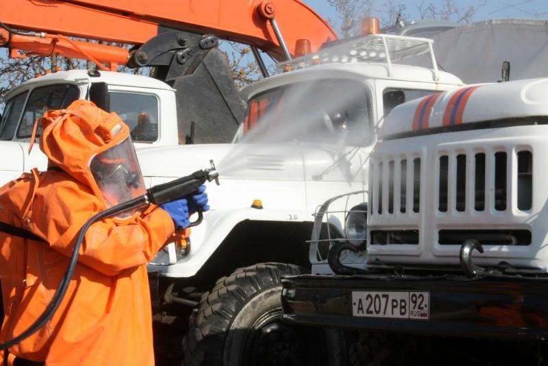 Севастопольские спасатели призывают проводить дезинфекцию помещений
