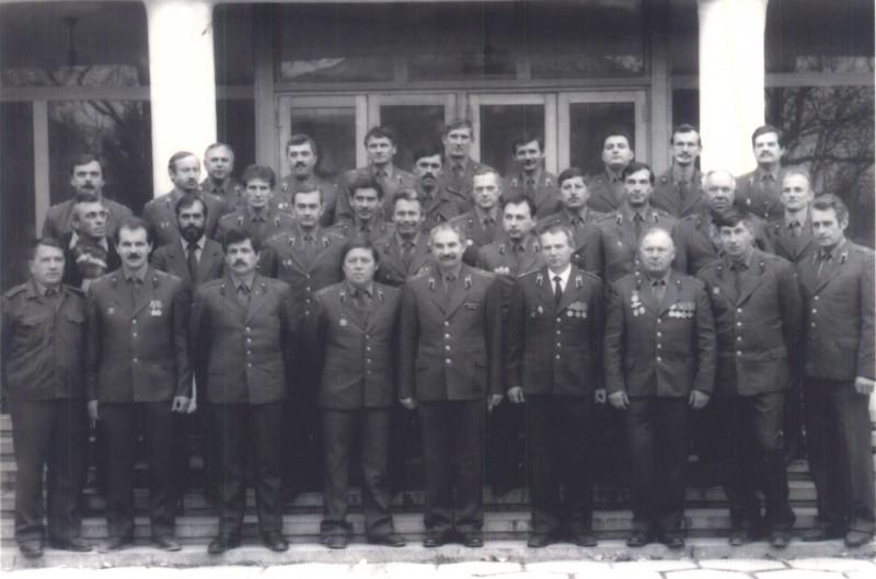 О роли севастопольских пожарных в ликвидации последствий катастрофы на Чернобыльской АЭС