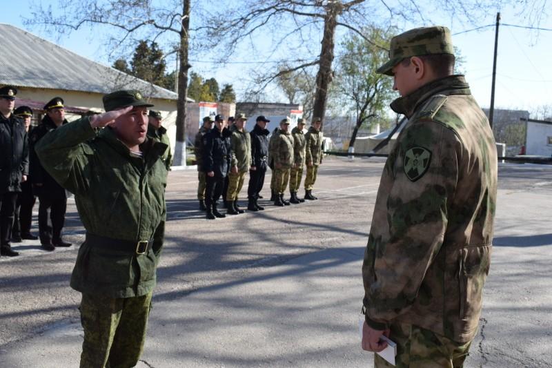 Росгвардеец из Севастополя награжден медалью «За спасение»
