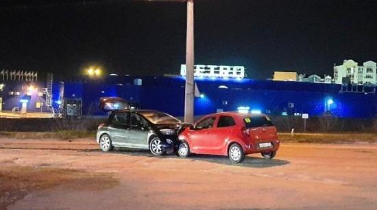 В Севастополе водитель с признаками опьянения совершил ДТП