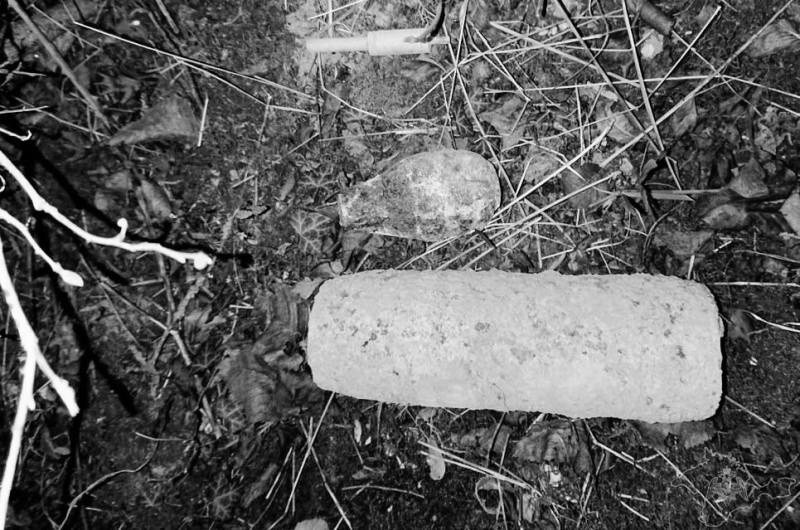 Взрывотехники «Беркута» обследовали найденные в Севастополе боеприпасы