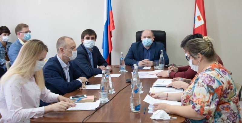 Михаил Развожаев встретился с главными врачами больниц Севастополя