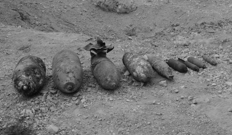 В Севастополе одновременно уничтожили 9 авиабомб