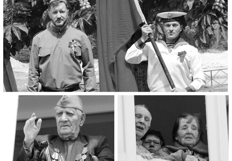 Артисты Дворца культуры рыбаков поздравили ветеранов в Севастополе