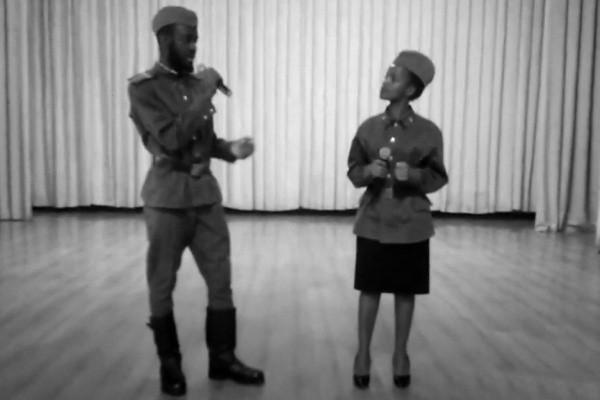 В Севастополе иностранные студенты исполнили песни военных лет