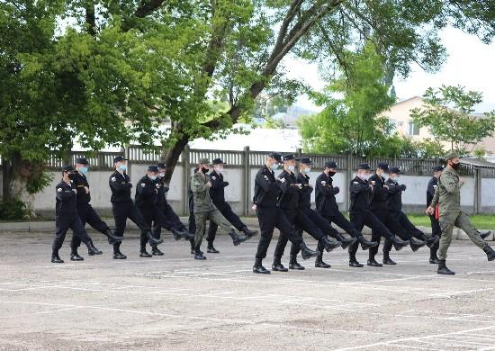В подразделениях армейского корпуса ЧФ проходят занятия с молодым пополнением