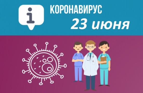 Оперативная сводка по коронавирусу в Севастополе на 23 июня