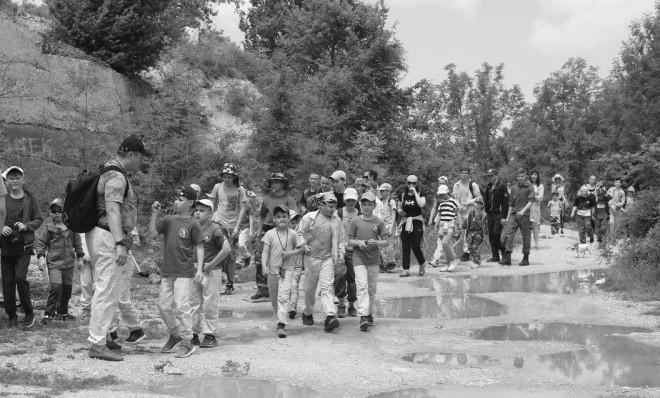 Юные рукопашники Севастополя посетили «Объект № 221»