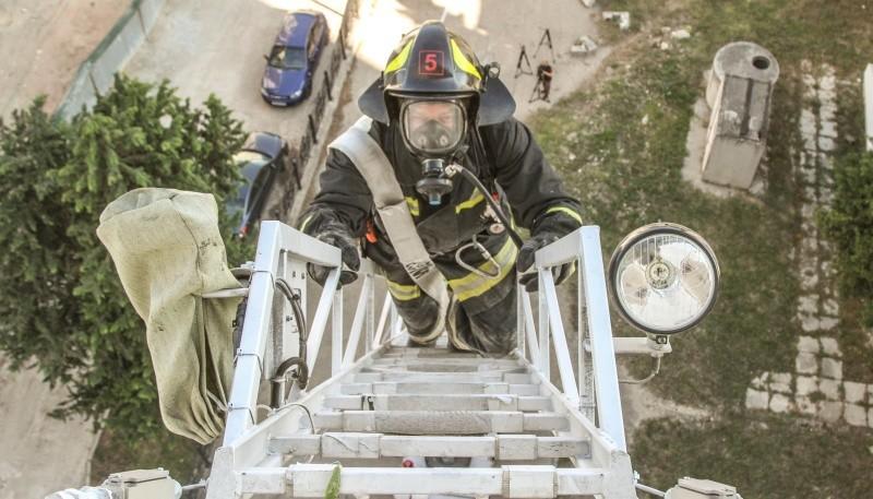 Севастопольские пожарные провели учение в гостиничном комплексе «Крым»
