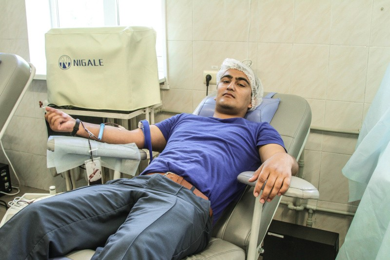 Севастопольские спасатели стали донорами крови