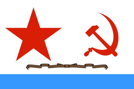 Копия флага гвардейского крейсера «Красный Кавказ» станет одним из символов Дня ВМФ