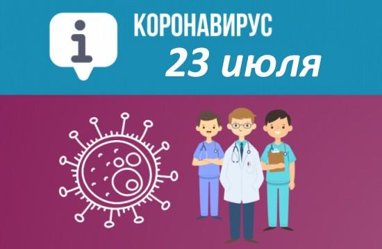 Оперативная сводка по коронавирусу в Севастополе на 23 июля