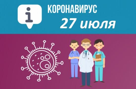 Оперативная сводка по коронавирусу в Севастополе на 27 июля
