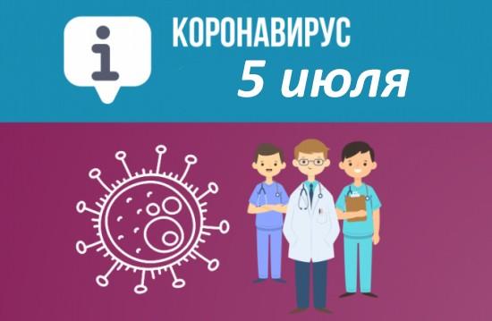 Оперативная сводка по коронавирусу в Севастополе на 5 июля