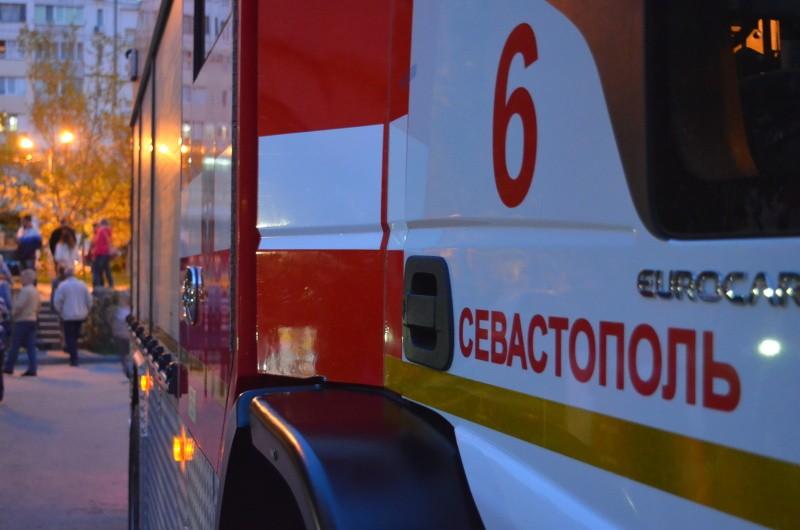 На пожаре в Севастополе погибла женщина
