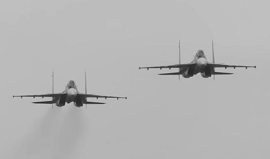 Экипажи самолётов отработали нанесение удара по отряду кораблей