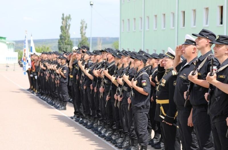 В армейском корпусе ЧФ все новобранцы приведены к присяге