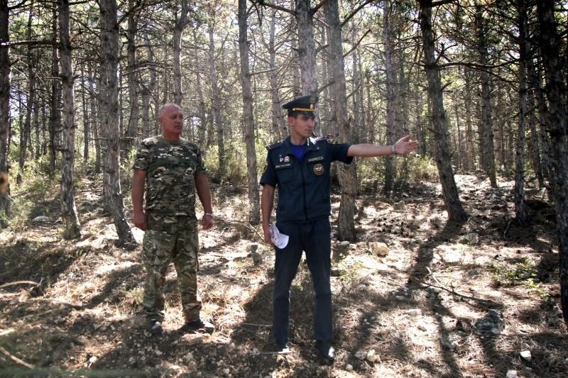 Инспекторы МЧС и лесничества провели совместный рейд в Севастополе