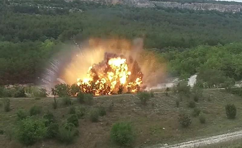 Более 700 взрывоопасных предметов уничтожили в Севастополе с начала года