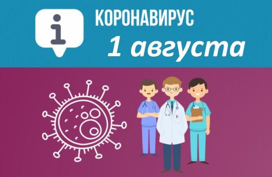 Оперативная сводка по коронавирусу в Севастополе на 1 августа