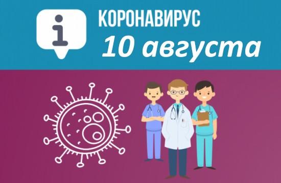 Оперативная сводка по коронавирусу в Севастополе на 10 августа