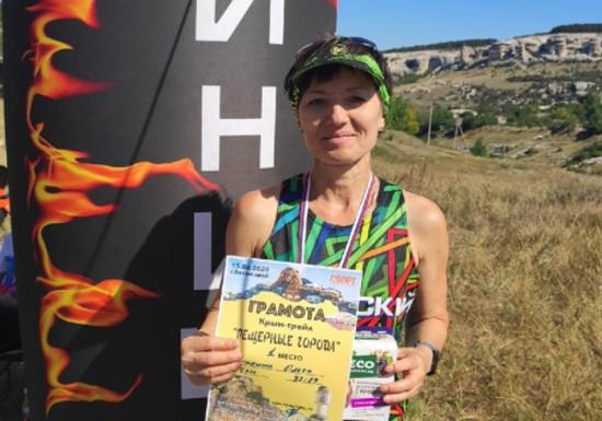 Сотрудница севастопольской полиции победила в соревнованиях по бегу