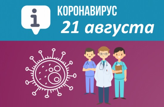 Оперативная сводка по коронавирусу в Севастополе на 21 августа