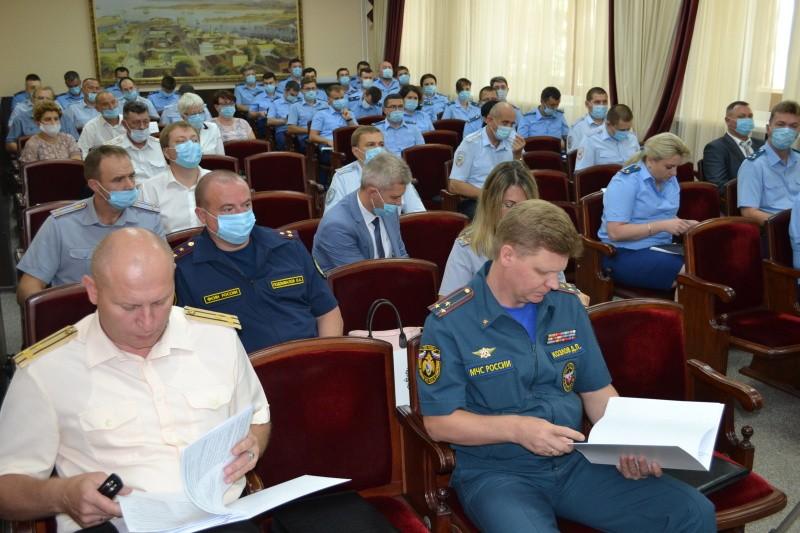 В прокуратуре Севастополя состоялось Координационное совещание руководителей правоохранительных органов