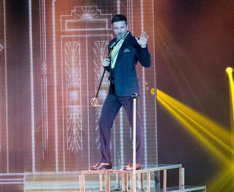 В Севастополе с концертом выступил Сергей Лазарев