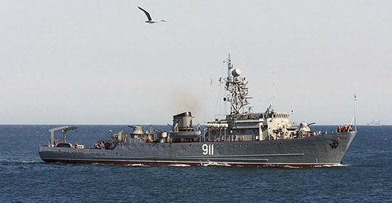 «Иван Голубец» проходит черноморские проливы в направлении Средиземного моря