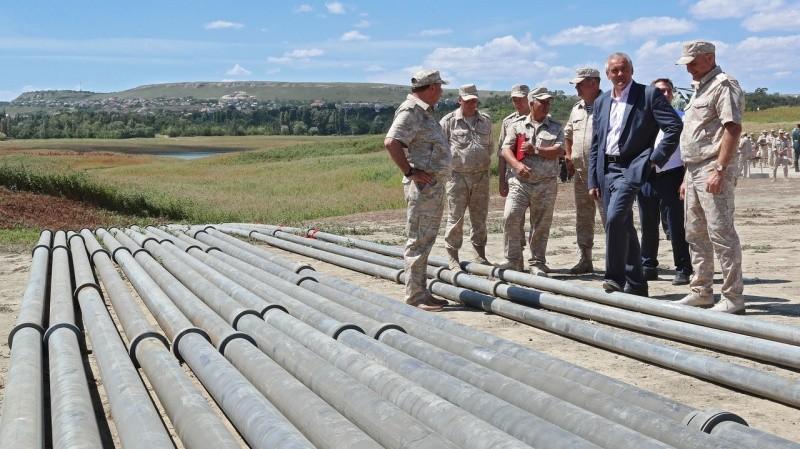 В Крыму запустили водовод Белогорск – Симферополь