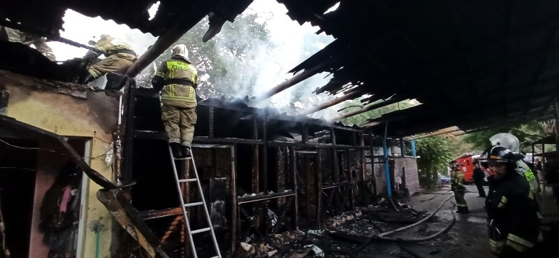 В Севастополе на пожаре погиб мужчина