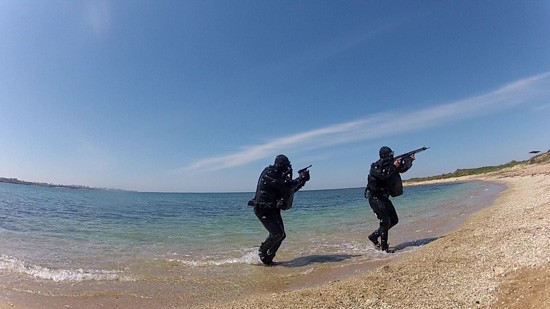 На Черноморском флоте проходят учения противодиверсионных сил и средств