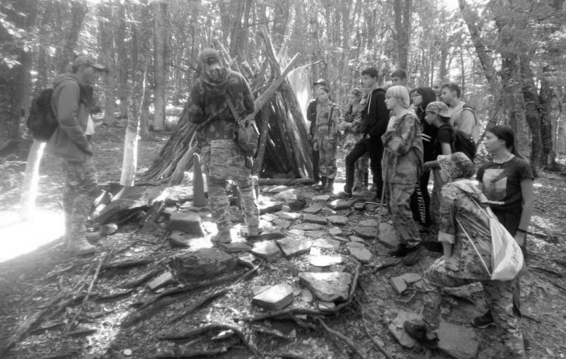 Симферопольские юнармейцы прошли по тропам крымских партизан