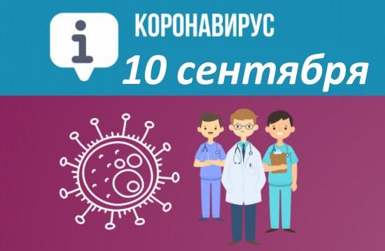 Оперативная сводка по коронавирусу в Севастополе на 10 сентября