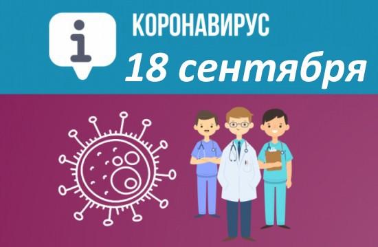 Оперативная сводка по коронавирусу в Севастополе на 18 сентября
