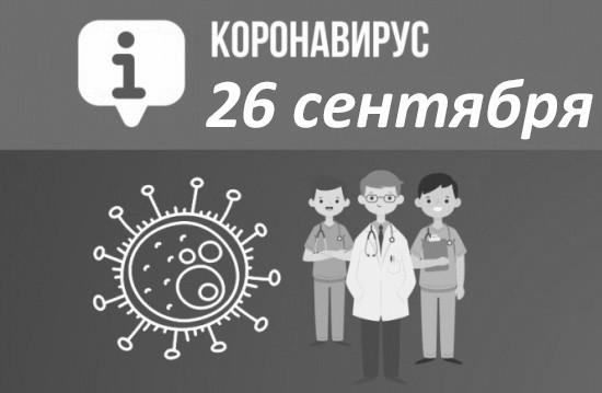Оперативная сводка по коронавирусу в Севастополе на 26 сентября