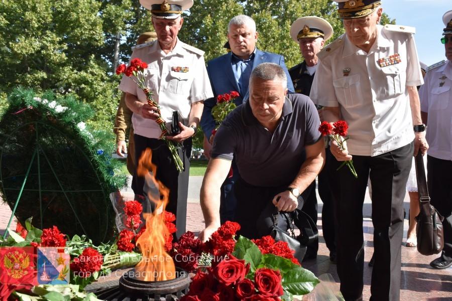 В Севастополе отметили окончание Второй мировой войны