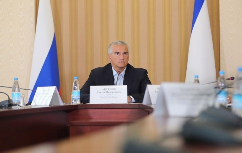 Сергей Аксенов провел совещание по ситуации в сфере водообеспечения