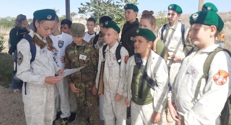 Юные рукопашники Севастополя приняли участие в квесте «Вектор мужества»