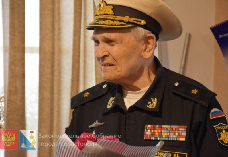В Севастополе простились с контр-адмиралом Мясоедовым Николаем Борисовичем