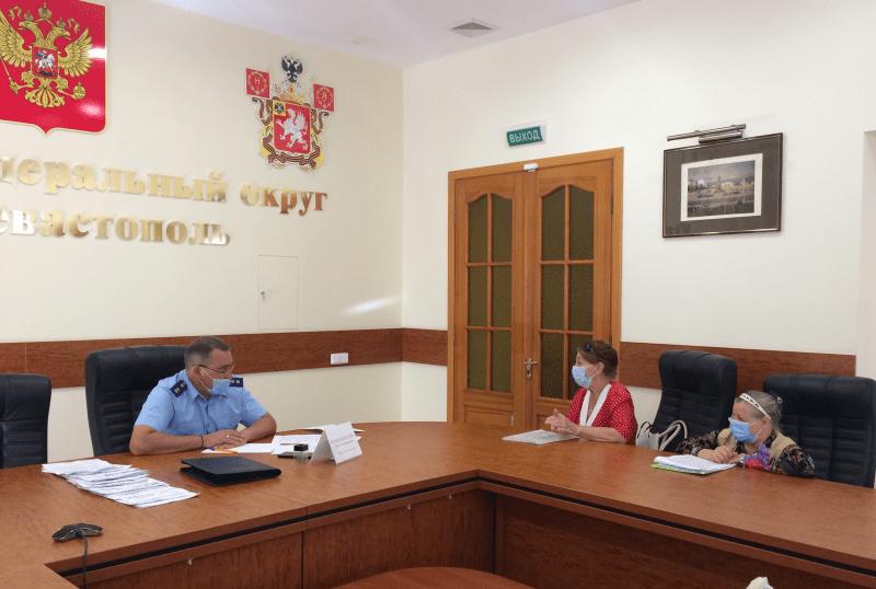 Прокурор Севастополя провел личный прием граждан